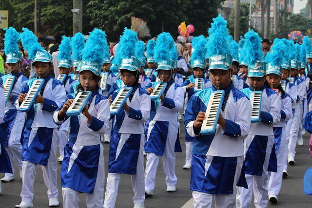 Lomba Drum Band anak anak 2
