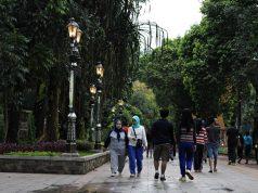 apa yang membuat trotoar seputar kebun raya bogor seperti menjadi tempat wisata 3