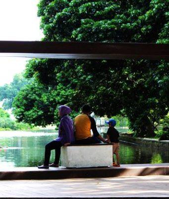 Large Frame in Bogor Botanical Garden - How To Use It