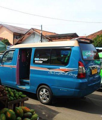 angkot ukuran besar di Bogor 2