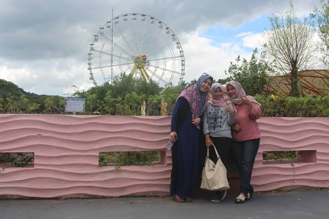 ferrish wheel di the jungleland