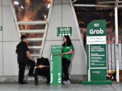 grab pick up dan drop point di stasiun cilebut