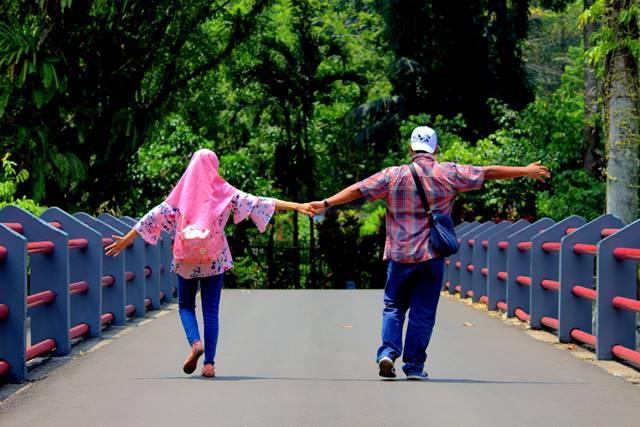 lokasi pemotretan foto pra wedding terbaik di Bogor 2