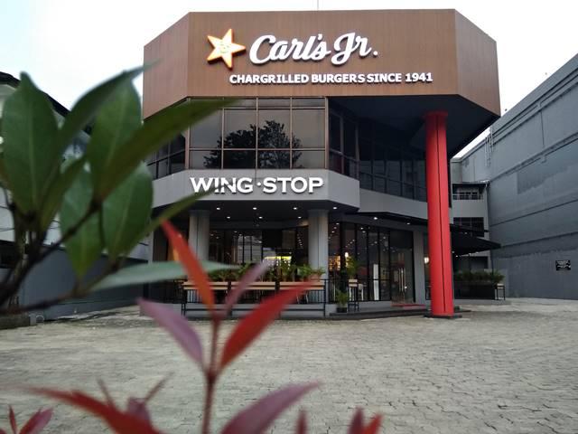 Lokasi Carls Jr Bogor di Jalan Pajajaran Bogor