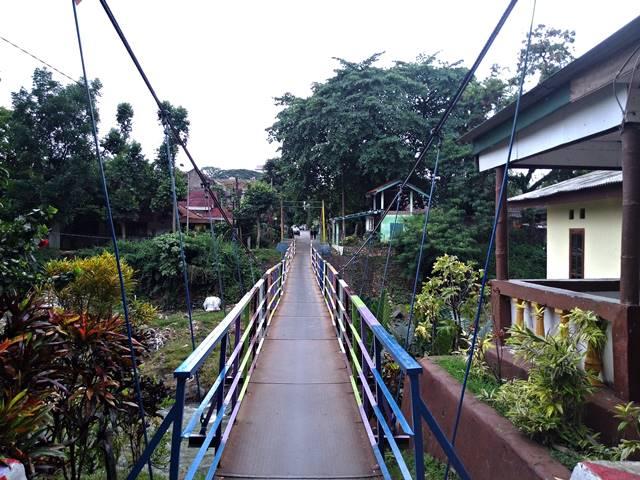 4 Jembatan Gantung di Sempur - Jembatan Gantung Sempur - Kampung Rambutan