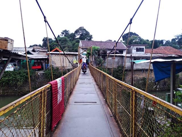 4 Jembatan Gantung di Sempur - Jembatan Gantung Sempur - Lebak Pilar