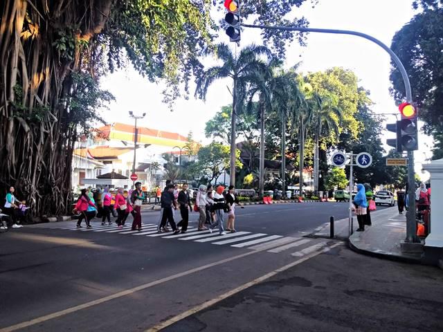 rossing di Jalan Juanda Bogor