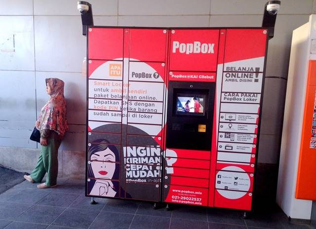 PopBox - Memudahkan Para Pecinta Belanja Online Untuk Menerima Paket Kiriman 2