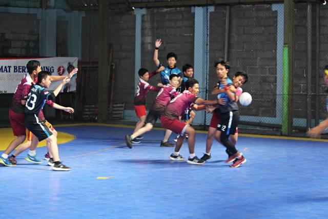 Ternyata Handball Bola Tangan Cukup populer di Bogor