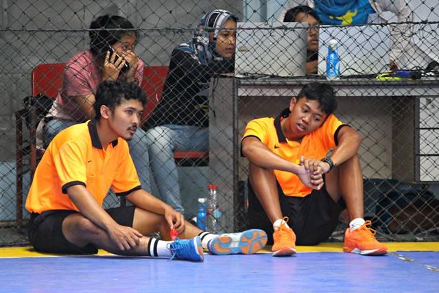 Yang Tersisa Dari Liga Handball - Bola Tangan SMA di Bogor 2018 2 - emang enak jadi wasit