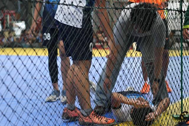 Yang Tersisa Dari Liga Handball - Bola Tangan SMA di Bogor 2018 - Pemain Cedera