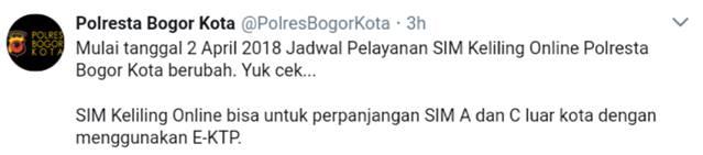 Bisakah Memperpanjang SIM A dan C Luar Kota di Bogor