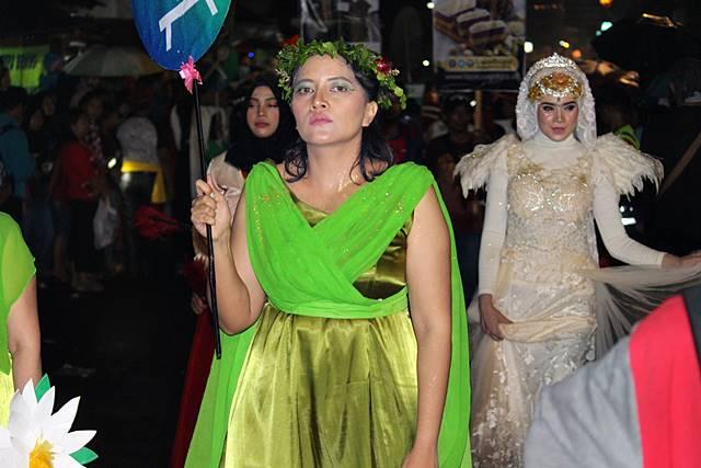 Kesenian daerah lain yang hadir di Cap Go Meh Bogor 2018 dari kahyangan atau dari Yunani