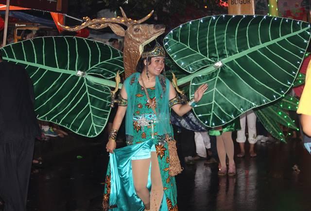 Warna warna cantik pemanis Bogor Street Festival 2 Hijau