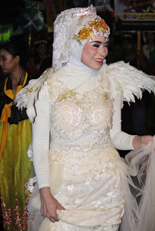 Warna warna cantik pemanis Bogor Street Festival 2 putih