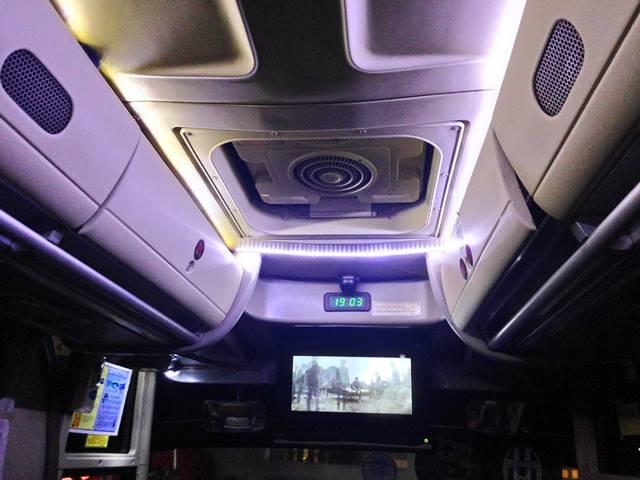 Menikmati Kenyamanan Royal Class Bus Damri Bogor - Lampung B