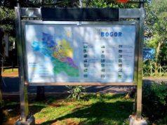 Peta Lokasi Wisata Kota Bogor di Sudut Taman Kencana