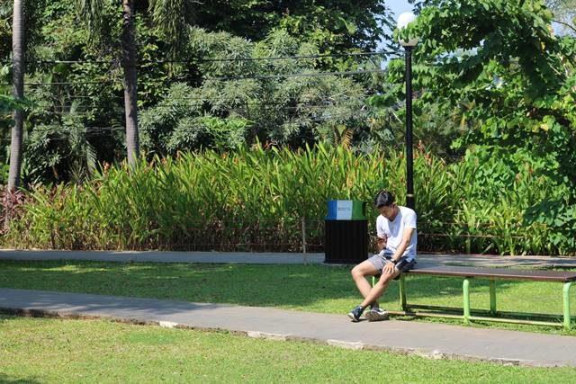 Taman Pun Bisa Dipergunakan Sebagai Ruang Kerja