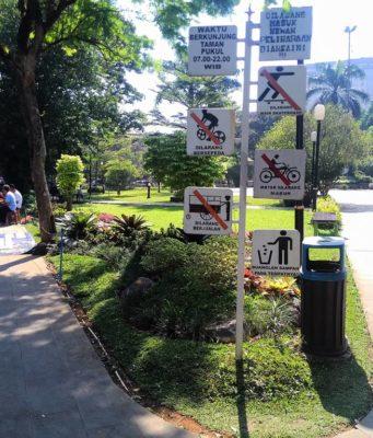 Tata Tertib Pengunjung Taman Kencana Yang Harus Dipatuhi