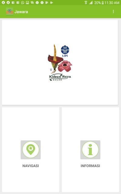 aplikasi jawara - Jelajah wisata dan belajar di kebun raya indonesia F