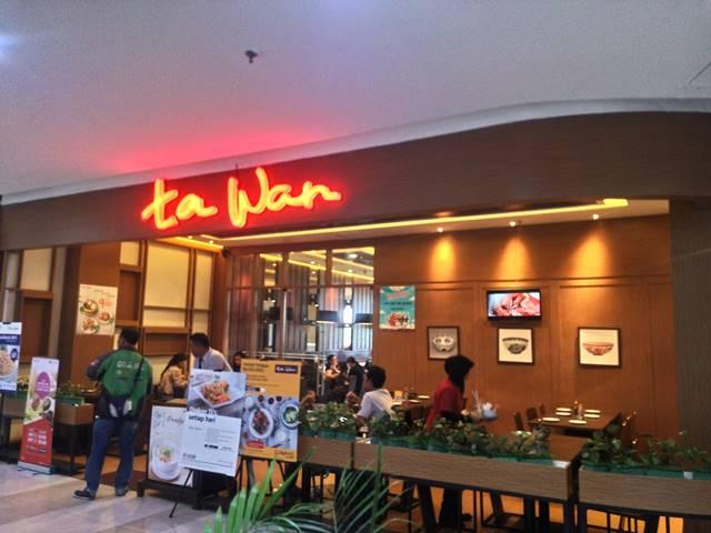 Harga Makanan di Ta Wan