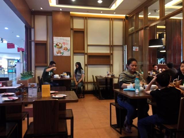 Tata Ruang Restoran Ta Wan Cibinong City Mall 2