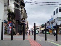 Tiang Anti Pemotor Jalan Suryakencana Ini Namanya Bollard