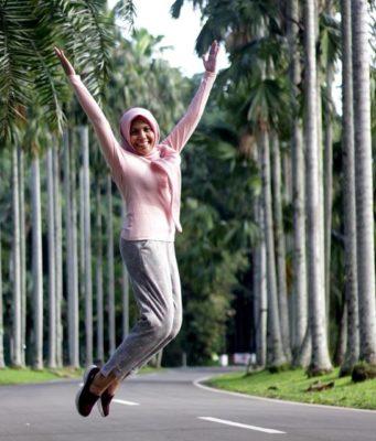Jejeran Pohon Palem Fotogenik Di Kebun Raya Bogor