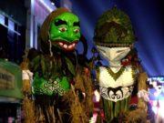 Wayang Landung - Peserta Pawai CGM Bogor Street Festival 2019 Paling Nge-Rock