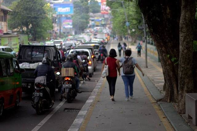 Senam Kolosal Millennial Road Safety Festival Kota Bogor 2019