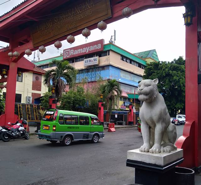 The Gate Of Suryakencana - Entrance to Bogor's Chinatown 2