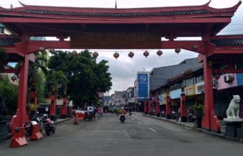 The Gate Of Suryakencana - Entrance to Bogor's Chinatown