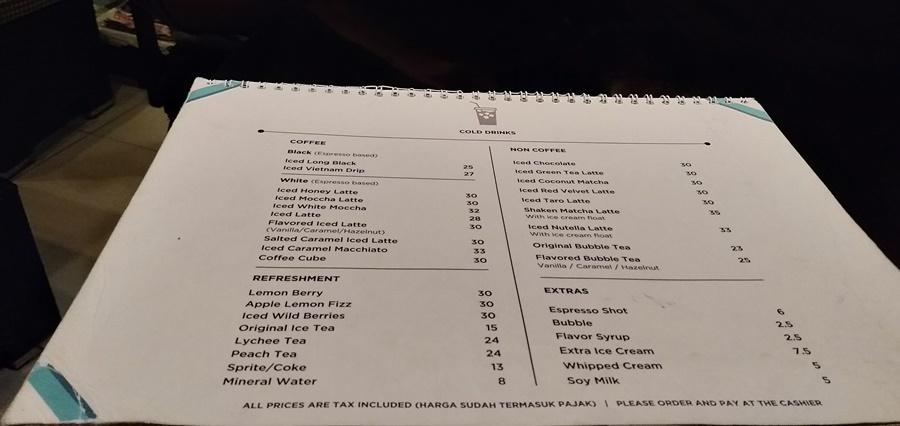 daftar menu kopi dan minuman dailydose coffee & eatery001