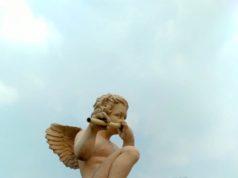 Patung Malaikat Kecil Bermain Seruling Di Bogor - Vila Indah Bogor 6 A