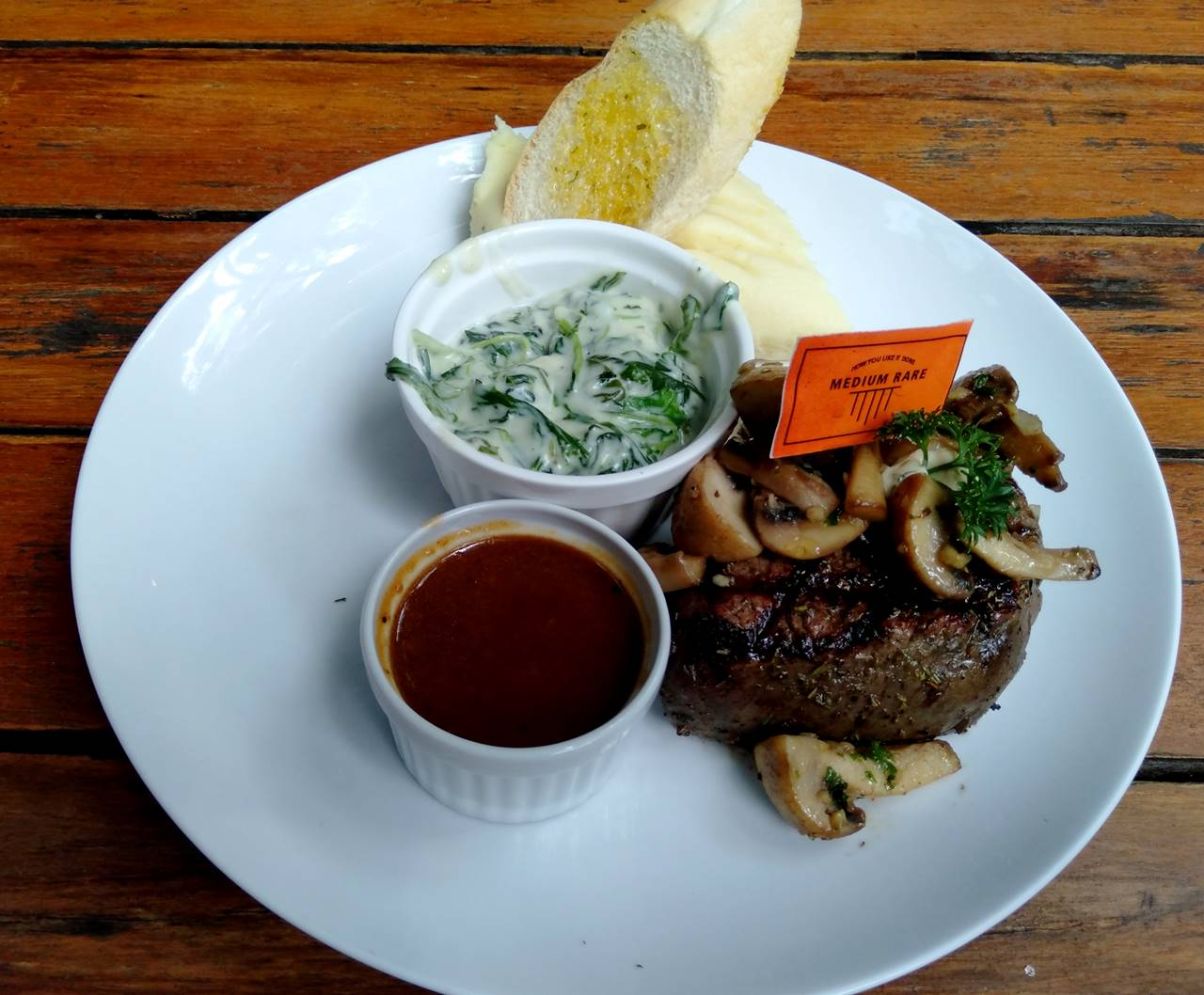 B'steak Grill And Pancake - Filet Mignon-nya Lezat Banget A