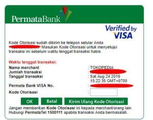 Cara Bayar Pajak Kendaraan Bermotor Dengan Kartu Kredit Lewat e-Samsat Online Tokopedia 2-APLIKASI SAMBARA kartu kredit visa A