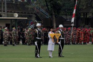 Pasukan Pengibar Bendera Kota Bogor Sedang Beraksi031