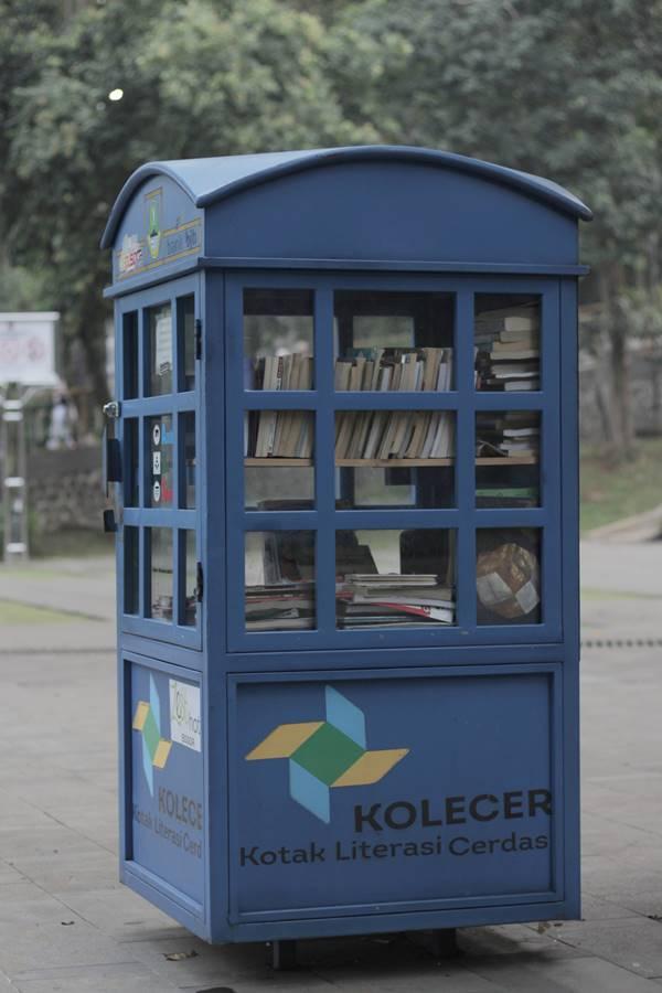 Kolecer - Kotak Literasi Cerdas Untuk Menumbuhkan Minat Baca C