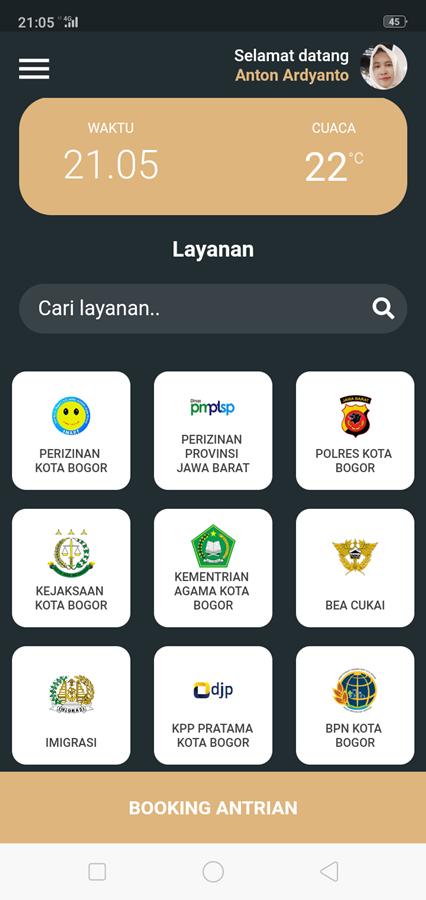 19 Instansi Penyedia Layanan Di Map Pelayanan Publik (MPP) Kota Bogor