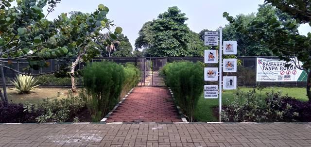Aturan Tata Tertib Pengunjung Taman Heulang D