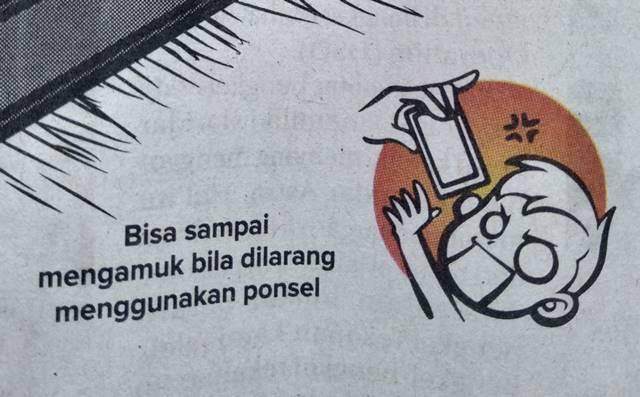 Ciri anak kecanduan gadget ponsel smartphone gawai Menurut Radar Bogor (2)