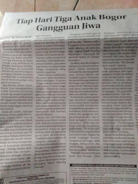 Hati-Hati Penyakita Nomophobia Tiga Anak Di Bogor Terkena Gangguan Jiwa Ini Tiap Harinya. 2