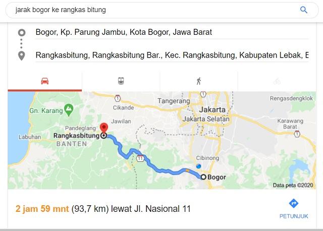 Cara Menuju Rangkasbitung Dari Bogor Dengan Commuter Line