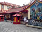 The Mural On The Wall Of Oldest Shrine In Bogor City 5