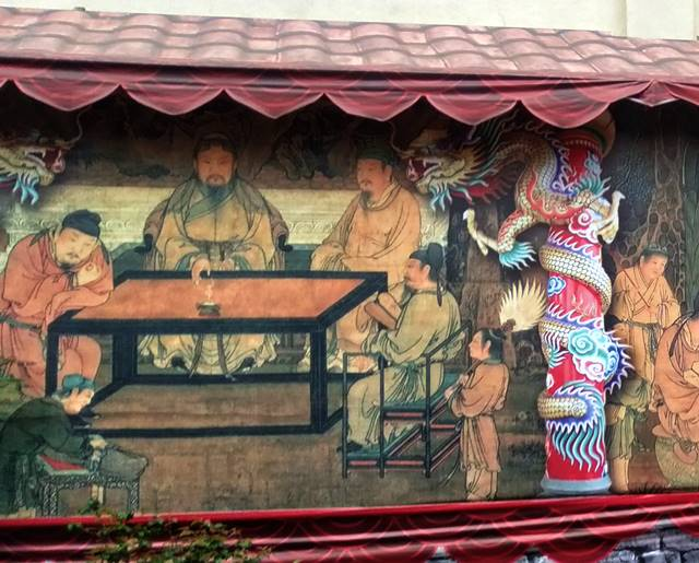 The Mural On The Wall Of Oldest Temple In Bogor City (2)