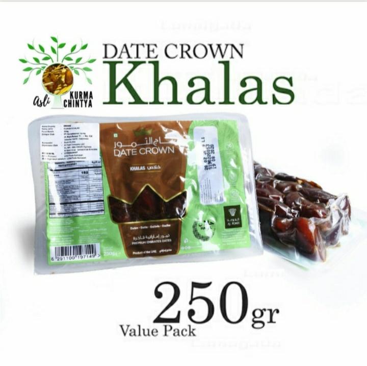 Kurma Khalas Date Crow 250gr