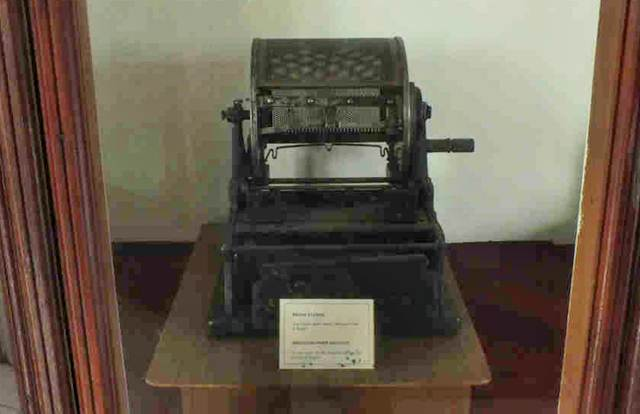 Mesin Stensil Kuno Peninggalan Zaman Perang Kemerdekaan