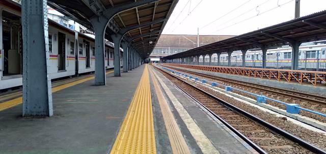 Rute Commuter Line - Stasiun Jakarta Kota